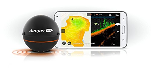 Deeper smart sonar pro gps portable wireless wi fi fish for Deeper fish finder review