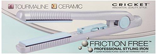 Cricket Friction Free Tourmaline Flat Iron, 1 Inch