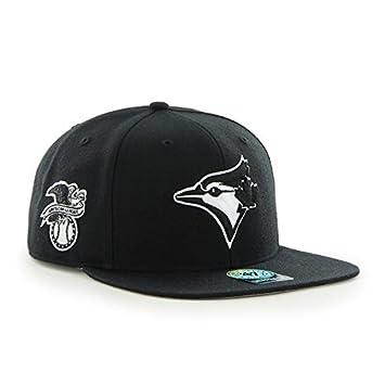 aed67a29e6e 47 Brand B-SRS26WBP-BK MLB Toronto Blue Jays Sure Shot Cap (Black ...