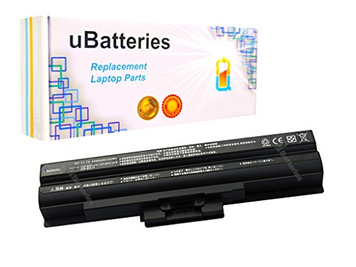 Ubatteries 49Whr Laptop Battery Sony Vaio Vgn Nw240f W   4400Mah  6 Cell  Black