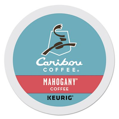 Caribou Coffee Mahogany, K-Cups for Keurig Brewers, 24-Compute