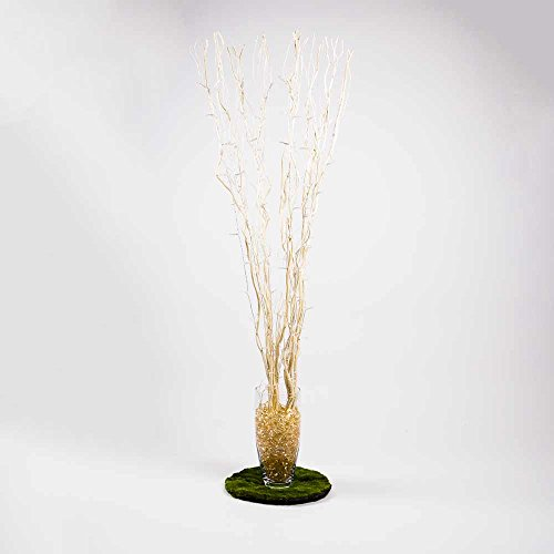 Fantado Battery Operated Willow Branch - Light Tan Branches by PaperLanternStore