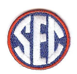 SEC Conference Team Jersey Uniform Patch Florida Gators