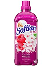 Softlan Sköljmedel Perfumed Freshness Red Fruits and Jasmine, Mjukgörande Sköljmedel med Hög Parfymhalt, Varaktig Doft och Vårdande för Din Tvätt – 650 ml