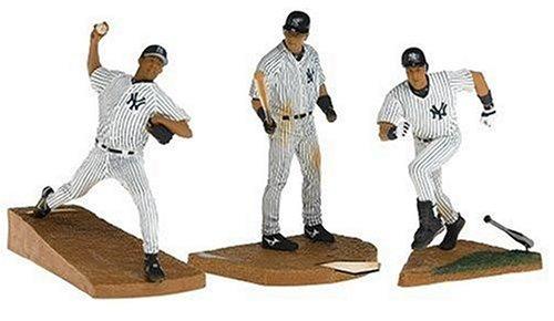 マクファーレントイズ MLB 3PK ニューヨークヤンキース/松井秀喜、リベラ、ジーター B000BGOG58
