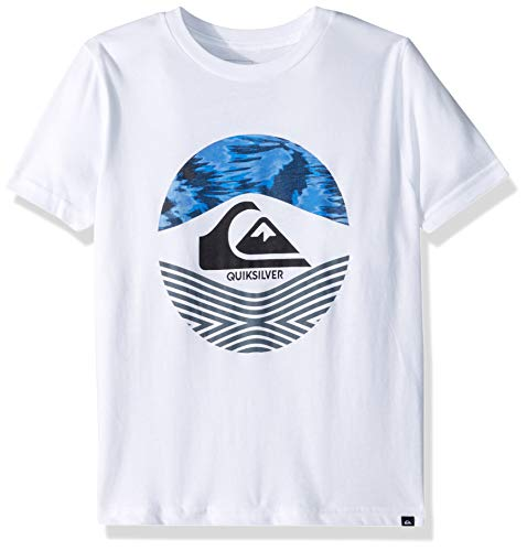 Quiksilver Boys' Little STOMPED ON TEE, White, 6