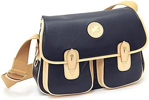 バッグ HUNTING WORLD 6625 16A バチューオリジナル ショルダーバッグ ネイビー/ナチュラル [並行輸入品]