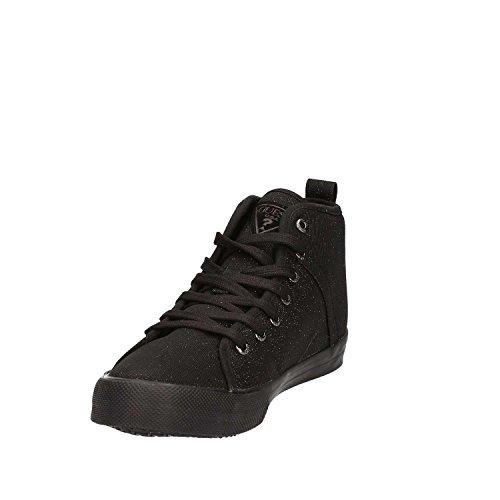 Guess FLOEL1 FAM12 Sneakers Femmes Noir PZ3Ew