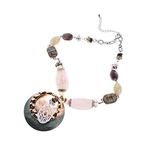 - Hot Sale!Necklace,Fitfulvan 2019 Retro Fashion Europe and America Personality Creative Necklace Ladies Fashion Pendant