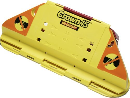Milescraft 1405 Crown45 Crown Molding Jig for Miter Saws by Milescraft Inc.