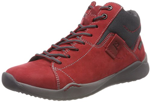 Seibel Ricky rot 401 Femme Hautes Josef Baskets kombi Rouge 07 THdqqUw