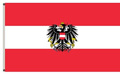 Fyon State Flag of Austria Banner 4x6ft