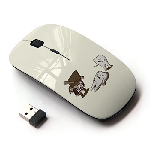 KawaiiMouse [ Optical 2.4G Wireless Mouse ] Tooth - Oral Sweet