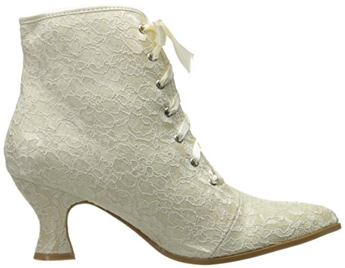 Bootie Ellie Shoes White Ankle Elizabeth Women's 253 zHqXzB