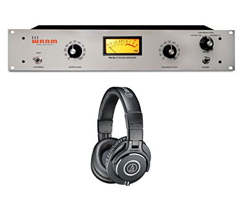 Warm Audio WA-2A WA2A LA-2A Style Tube Optical Compressor +ATH-M40X Headphones by Warm Audio