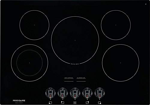 Frigidaire FGEC3068UB Gallery Series 30 Inch Electric Smoothtop Style Cooktop with 5 Elements in Black (Frigidaire Electric Stoves)