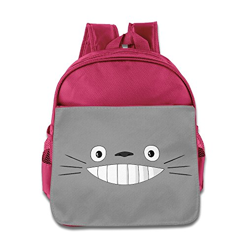 Children Totoro Smile Face School Bag (2 Color:Pink Blue) - Austin And Ally Costumes For Kids