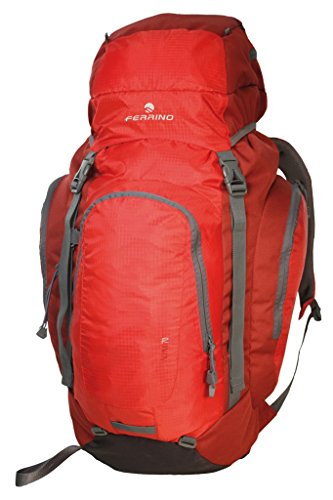 Ferrino zaino trekking ALPAX 50 LITRI disponibile in tre colori Rot