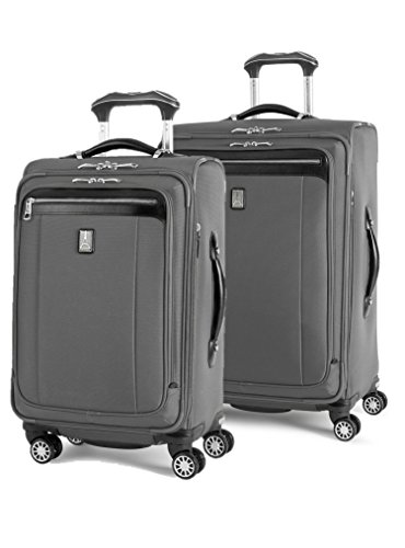Expandable Wheeled Suiter - Travelpro Platinum Magna 2 2-Piece Express Spinner Suiter Luggage Set: 25