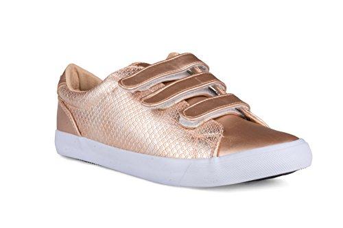 twisted-womens-faux-snakeskin-velcro-sneakers-kixlo193rose-gold-size-8