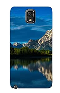 Fashion Protective Mount Moran, Grand Teton National Park Case Cover Design For Galaxy Note 3