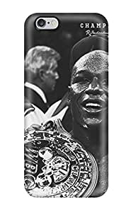 For Iphone 6 Plus Premium Tpu Case Cover Mayweather Protective Case(3D PC Soft Case)