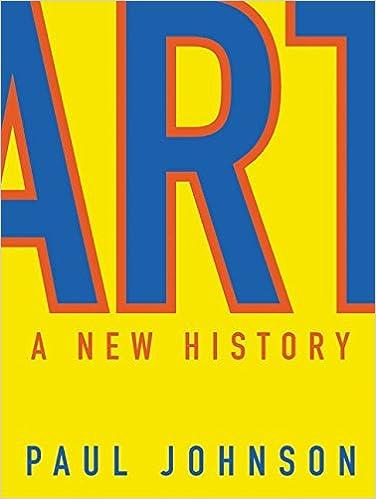 Art: A New History: Paul Johnson: 9780060530754: Amazon com