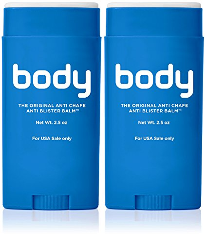 Body Glide Original Anti-Chafe Balm, 2.5oz, Pack of ()