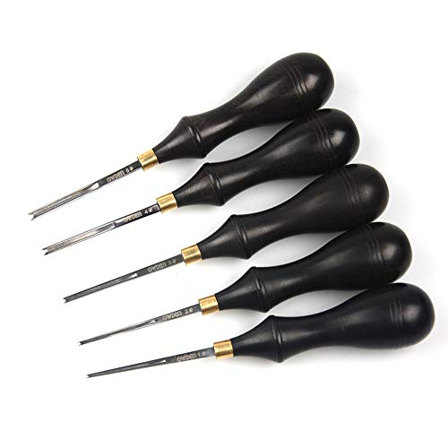 OWDEN Professional Edge beveler for Leather Craft (1#), Leather Tool. -