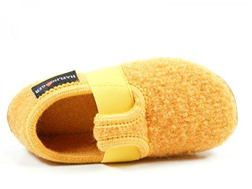 Haflinger 481015 Everest Jonas Zapatillas de casa de lana niño Gelb