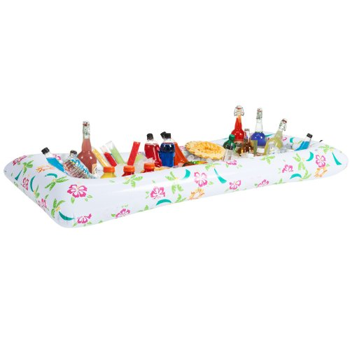 Inflatable Tropical Buffet Cooler Party Supplies