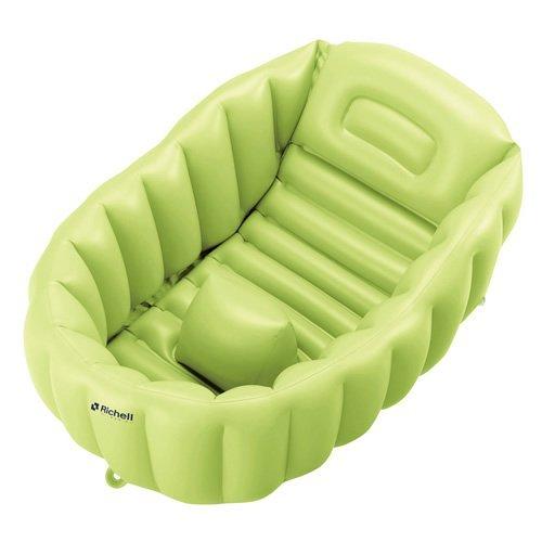 Richell souple Baby Bath R Green