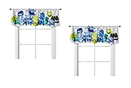 Circo Monster Party Window Valance (54\