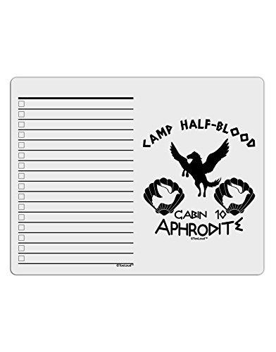TooLoud Cabin 10 Aphrodite Camp Half Blood To Do Shopping List Dry Erase Board