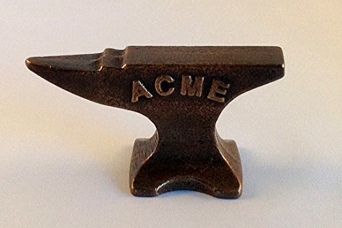 Pure Bronze Mini Acme Anvil Reminds Us Of The Old Looney