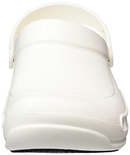 crocs Bistro, Zuecos Unisex Adulto Bianco (White)