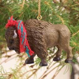 Amazon.com: 1 X Buffalo Ornament: Home & Kitchen