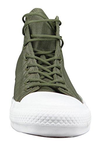 Converse Unisex Adults' M3310 Hi-Top Trainers Medium Olive Herbal White qs0n03