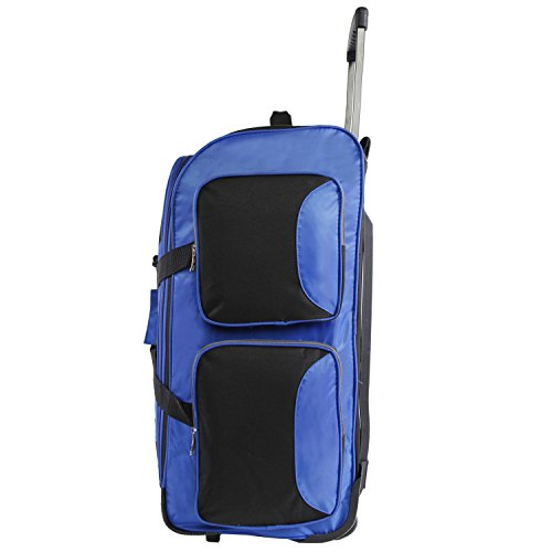 Fila 26'' Lightweight Rolling Duffel Bag, Blue, One Size by Fila (Image #11)