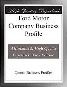 ford motor company business profile qontro business