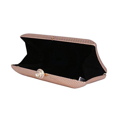 Women's Party Evening Damara Dinner Black Hardcase Delicate Bag R4gfP