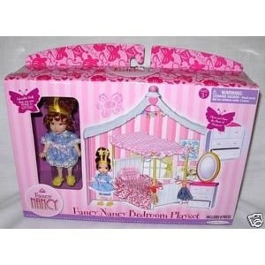Fancy Nancy Mini Doll Bedroom Playset