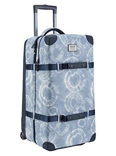 Burton Wheelie double deck travel bag luggage, Grateful Shibori Ballistic, One Size