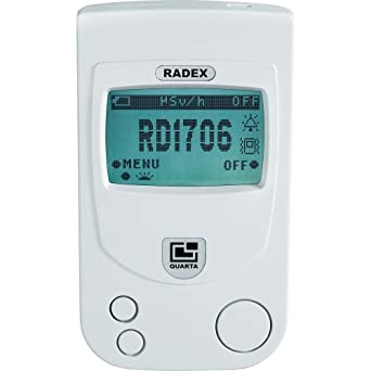 RADEX RD1706 Dual-Pro Professional dual-sensor Radiation Detector / Geiger Counter