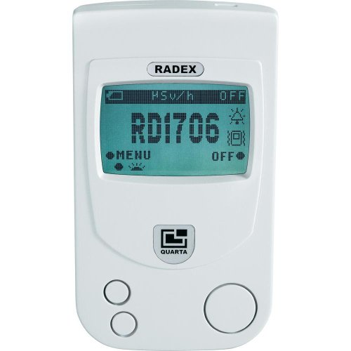 RADEX RD1706 Dual-Pro Professional dual-sensor Radiation Detector / Geiger (1 Pocket X-ray)