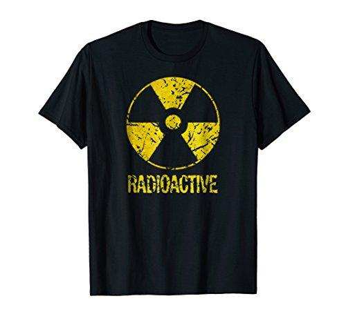 Funny Vintage Nostalgic Radioactive Nuclear War symbol -