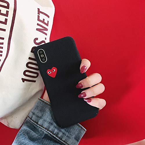 low priced 80d8d 19179 Half-Wrapped Case - Hot Love CDG Play Comme des Garcons Hard Matte Protect  Cover case for iPhone 6 6S Plus 7 8 Plus X XS MAX XR Frosted Phone Cases -  ...