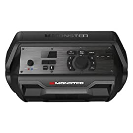 Monster Nomad | Portable Indoor/Outdoor Bluetooth and NFC Speaker, 30 Watts of Powerful Premium Sound, 30 Hours of Playtime, IPX4 Water Resistant, USB Port and Microphone/Guitar Input (Black) 137 30 Watts of Powerful Premium Sound Built-in Rechargeable Battery Lasts up to 30 Hours USB Port for Charging Smart Phones and other Devices