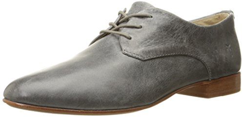 FRYE Women's Tracy Oxford, Pewter Antique Pull Up Leather, 7.5 M US