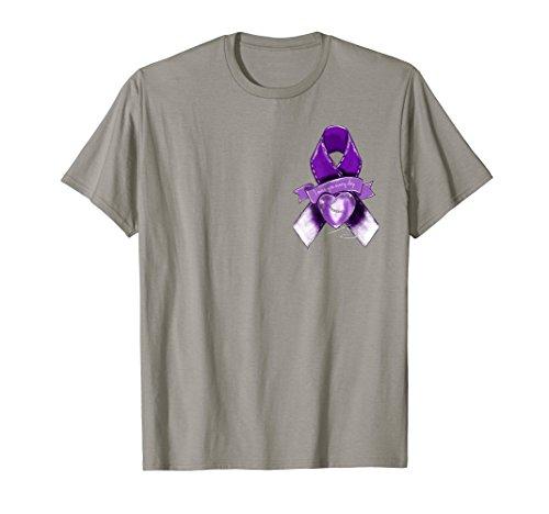 Overdose Awareness Graphic Purple Ribbon (Awareness Ribbon Graphic)